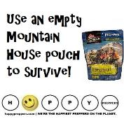 Empty Mountain House pouch