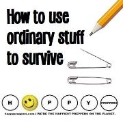 How to use ordinary stuff to survive