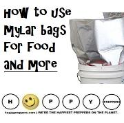 How to use Mylar Bags for food and more