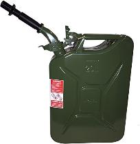 NATO military gas can