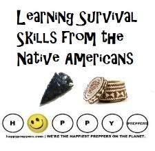 Learning survival skils from the Native Americans