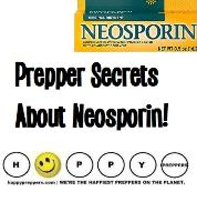 Prepper secrets about Neosporin