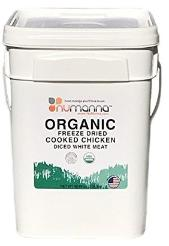 Organic cooked chicken