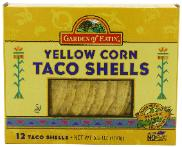 Taco shells have a long shelf life - these are organic, non-GMO