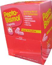 Pepto bismol packets