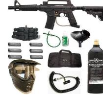 Paintball as an improvised weapon