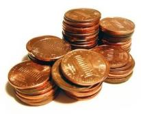 Copper pennies -preppers hoard them