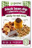 Black Bean Dip & Plantain Chips