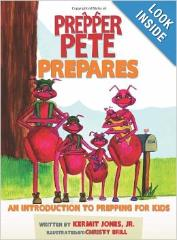 Prepper Pete Prepares - book for children