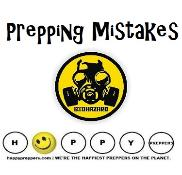 Prepping Mistakes