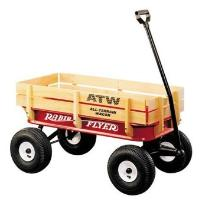 Radio flyer wagon- prepper car