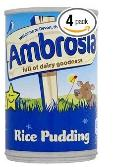 Ambrosia rice pudding ~ emergency dessert
