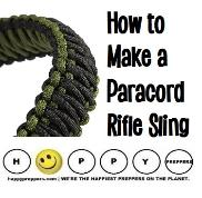How to make a paracord rifle sling