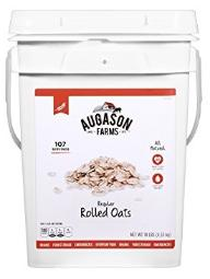 Augason Farms regular rolled oats