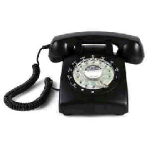 Rotary phone (hard to find item)