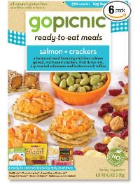 Salmon and Crackers