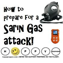 How to prepare for a Sarin Gas Attack