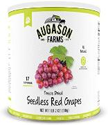 Augason Farms Seedless Grapes