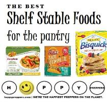 Shelf-stable Foods for the Prepper's Pantry