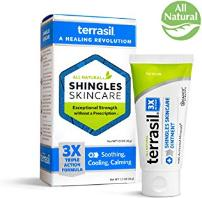 Shingles treatment cream