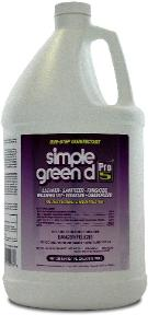 disinfectant: Simple Green D Pro5
