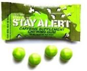 Chewing Gum for preppers: stay alert gum with caffeeine