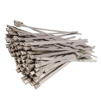 Steel coated cable ties