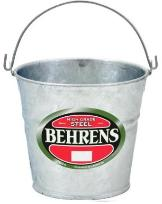 Behrens steel bucket