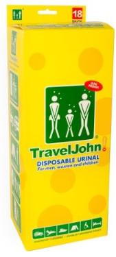 Travel John - Dispostalbe Urninal