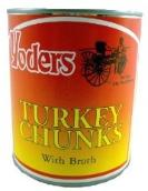 Turkey chunks canned food that lasts 10 years