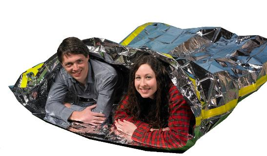 two person survival mylar
