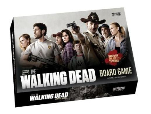 walking dead zombie board game