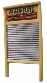 Washboard for living off the grid