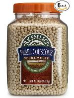 Smaller jars - 6 couscous pearls