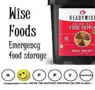 Wise Foods Emergency Food Buckets