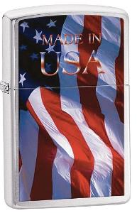 Zippo lighter made in America