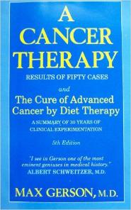 A Cancer Therapy by Max Gerson