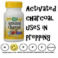 Activated Charcoal uses in prepping