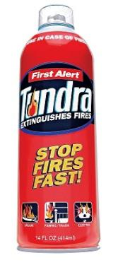 Tundra fire extinguisher