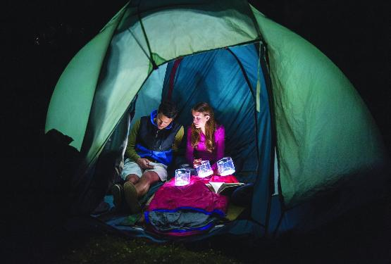 Take the solar air lantern camping or prepare to bug out with it