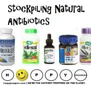 Stockpiling natural antibiotics
