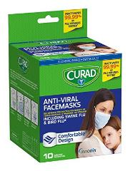 Antiviral masks by Curad