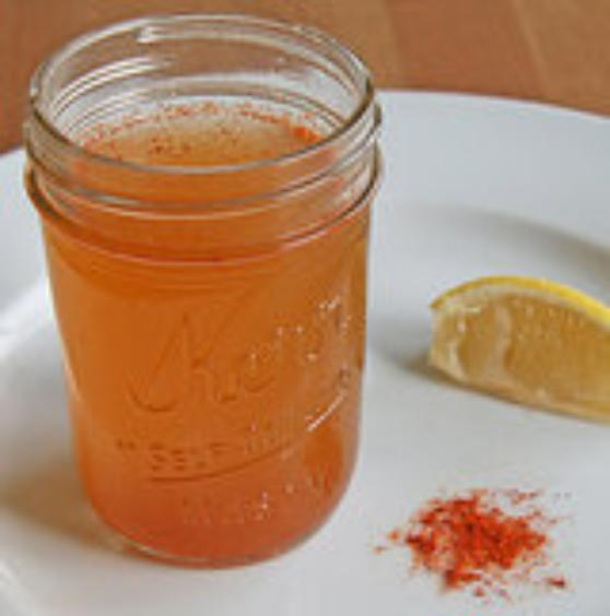 Sinus and cold remedy with cayenne