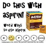 Do this with aspirin!