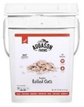 :Prepper food! Rolled oats are inexpensive food storage