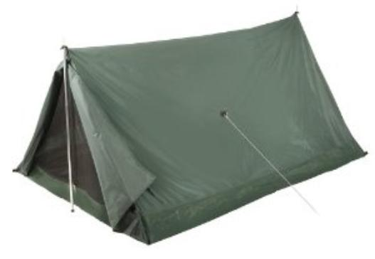 Classic backpacking tent