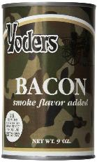 Yoders bacon - 12 cans