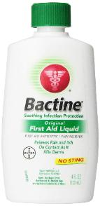 Bactine First Aid Liquid