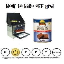 how to bake off grid