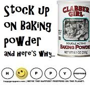 Stock up on baking powder